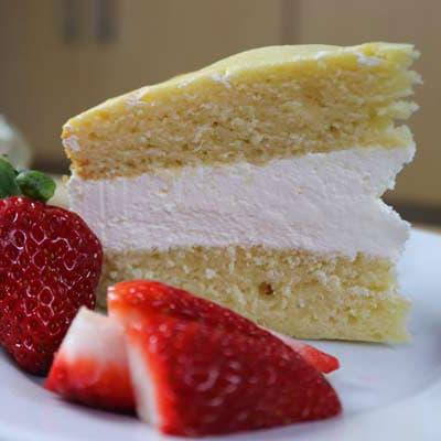 Victoria Sponge Cream Cake