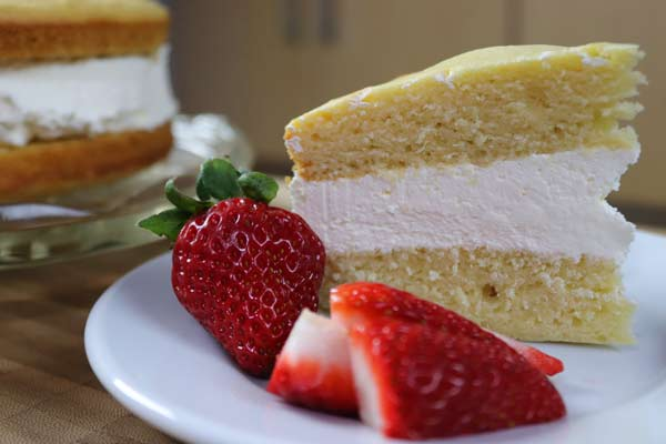 A Sponge Cake Recipe - Really Sugar Free