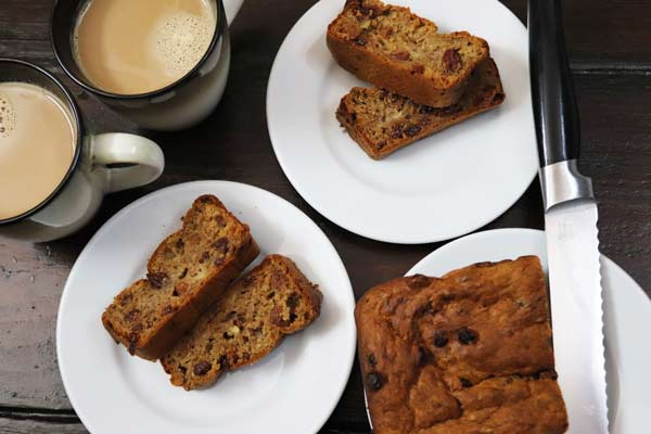 Banana Cake Loaf - Really Sugar Free