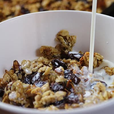 Low Sugar Granola Recipe