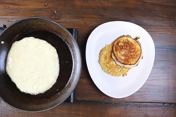 Homemade Crispy Pancakes Recipe