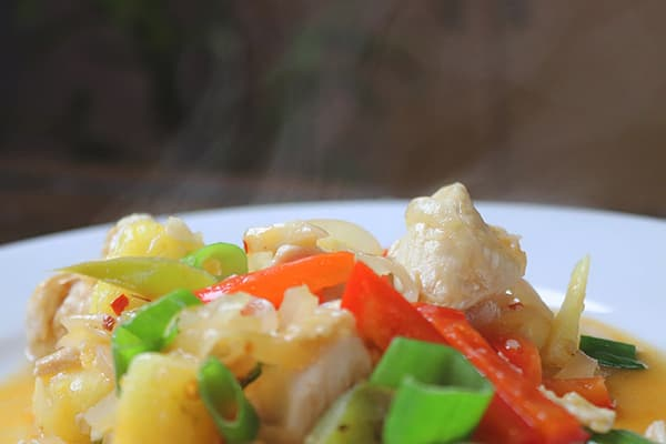 Sweet and Sour Chicken Cantonese Style - Really Sugar Free